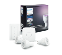 Starter kit GU10 White and color ambiance + switch