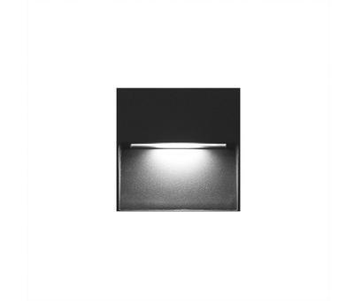 LED2 STEP ON Q S, A NÁSTĚNNÉ ANTRACITOVÉ IP54 - 1