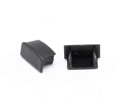 Koncovka ALU profil 17,4x8mm černá barva