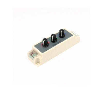 Otočný stmívač pro RGB LED pásky M1 12-32V 3x3A - 1
