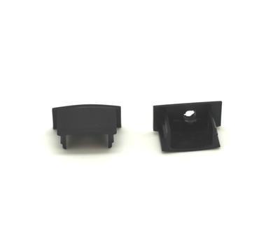 Koncovka ALU profil 17,4x8mm napájení černá barva