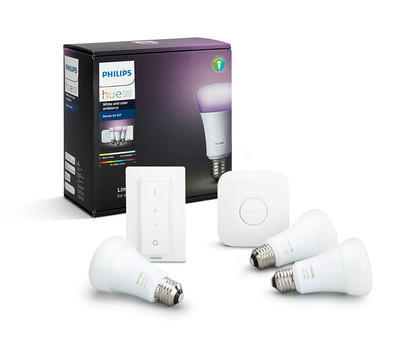 Philips Hue 10W A19 E27 3 set EU + switch - 1