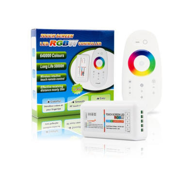 Dotykový ovladač MI-LIGHT RGBW 4x6A bílá - 1