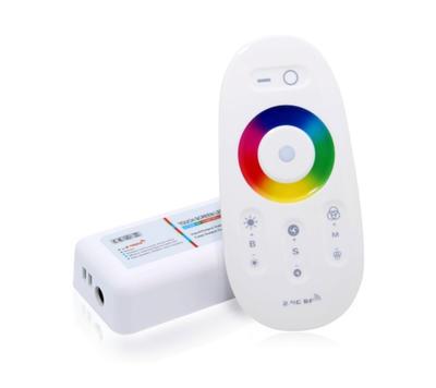 Dotykový ovladač MI-LIGHT RGB 3x6A bílá - 1