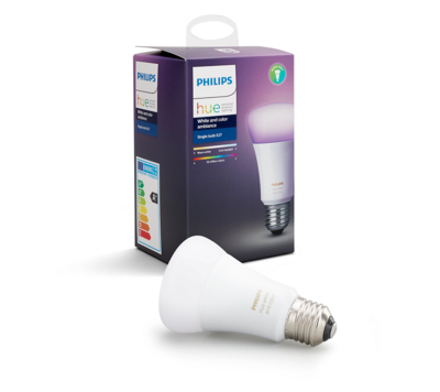 Philips Hue White and Color Ambiance 10W E27 - 1