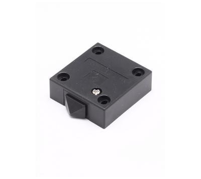 Dveřní spínač 230V mechanický černá barva - 1