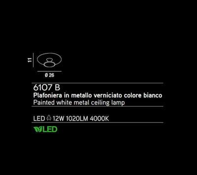PERENZ - Stropní světlo, 6107