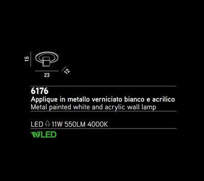 PERENZ - Nástěnné světlo, 6176