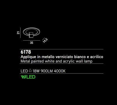 PERENZ - Nástěnné světlo, 6178