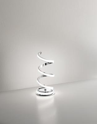PERENZ - Stolní lampa 6393, Chromová - 1
