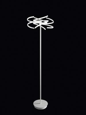 PERENZ - Stojací lampa 6399, Bílá - 1