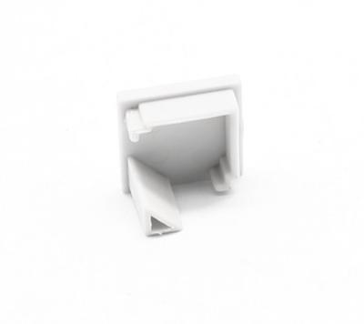 Koncovka ALU profil rohový 16x16mm hranatá - 1