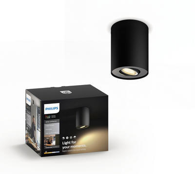Pillar Hue single spot black 1x5.5W 5633030P8 - 1