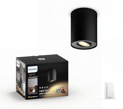Pillar Hue single spot black 1x5.5W 5633030P7 - 1