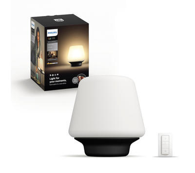 Wellness Hue table lamp black 1x9.5W 4080130P7 - 1