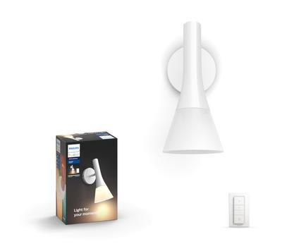 Explore Hue wall lamp white 1x6W 230V - 1