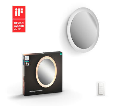 Adore Hue wall mirror lamp white 1x40W 24V - 1