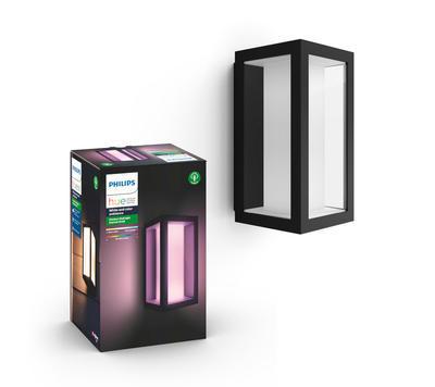 Impress Hue WACA EU wall lantern black 1 - 1