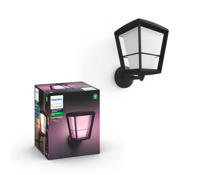 Econic Hue WACA EU up wall lantern black - 1