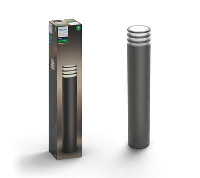 Lucca post anthracite 1x9.5W 230V - 1