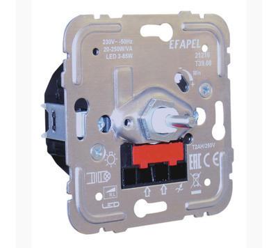 Stmívač pro LED žárovky max 85W EFAPEL 21216 - 1