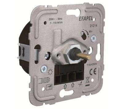 Stmívač pro LED žárovky max 35W EFAPEL 21214 - 1