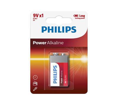 Baterie Philips 6LR61P1B/10 Power Alkaline 9V / 1