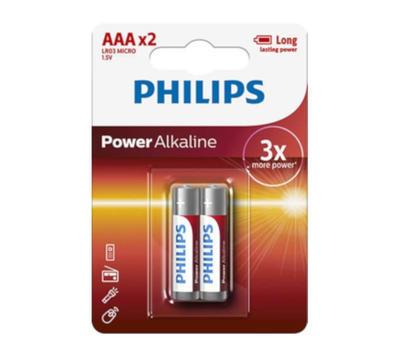 Baterie Philips LR03P2B/10 Power Alkaline AAA / 2