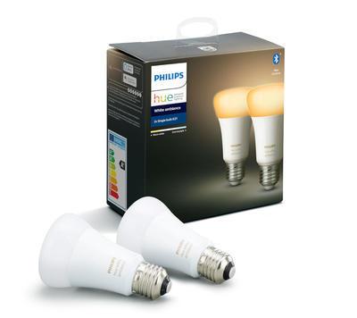 Philips HueWA 8.5W A60 E27 2P EUR - 1