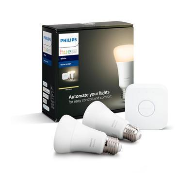 Philips HueW 9W A60 E27 2set EU