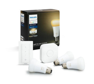 Hue white ambiance 9.5W A60 E27 set EU + switch - 1