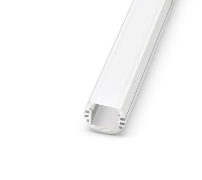 ALU kruhový Profil O-TYPE 18x16 mm krytka matná 1m - 1