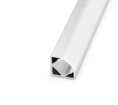 ALU profil rohový 18,5x18,5 délka 2m krytka mat - 1