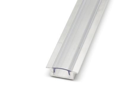 ALU profil zápustný 17,4x8 délka 1m krytka čirá - 1