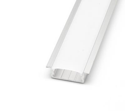 ALU profil zápustný 23x10 délka 1m krytka mat - 1