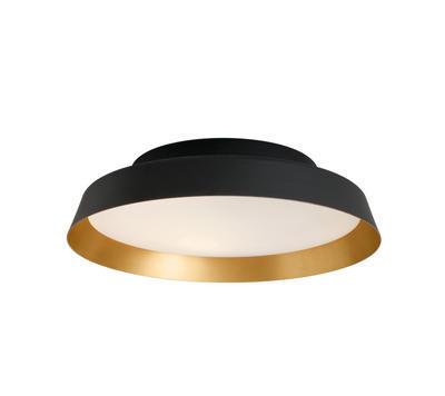 BOOP! - stropní nebo nástěnné světlo, integrované LED světlo, černá / zlatá