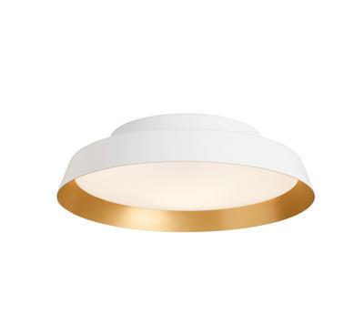 BOOP! - stropní nebo nástěnné světlo, patice E27, bílá / zlatá