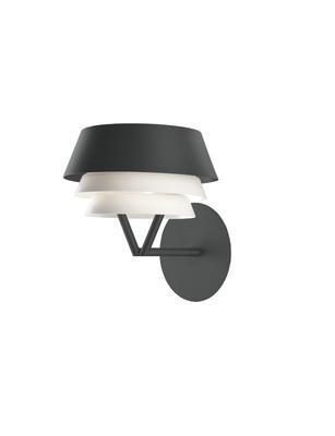 GALA - nástěnná lampa, černá
