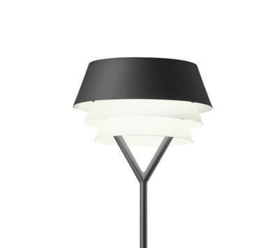 GALA - stojací lampa, černá - 1