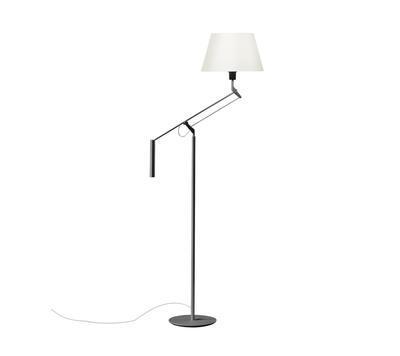 GALILEA - stojací lampa, kamenně šedá