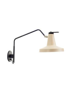 GARÇON - nástěnná lampa, velká, béžová - 1