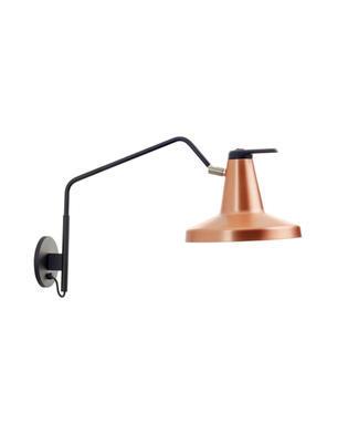GARÇON - nástěnná lampa, velká, měděná - 1