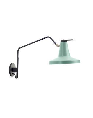GARÇON - nástěnná lampa, velká, mátově zelená - 1