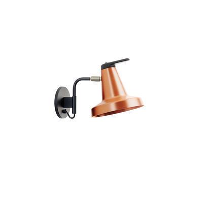 GARÇON - nástěnná lampa, malá, měděná - 1