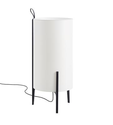 GRETA - stojací lampa, černý dub, bílá