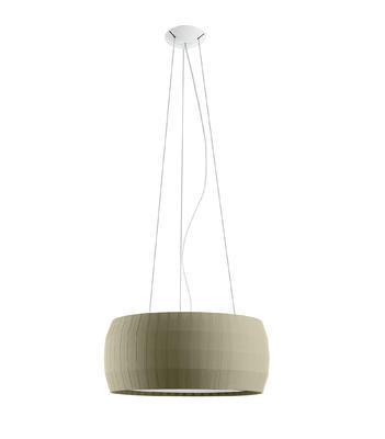 ISAMU - závěsná lampa, průměr 77 cm olivově zelená - 1