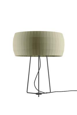 ISAMU - stolní lampa, olivově zelená