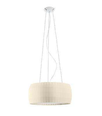 ISAMU - závěsná lampa, průměr 77 cm perlová - 1