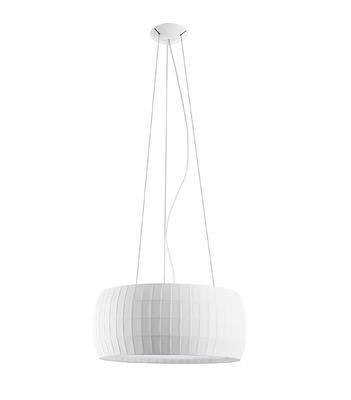 ISAMU - závěsná lampa, průměr 53 cm bílá - 1