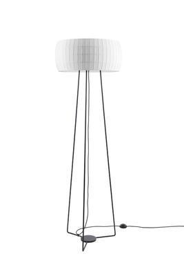 ISAMU - stojací lampa, bílá